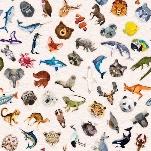 HOFFMAN - Spectrum Digital Print - Zoo Keeper