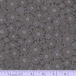 MARCUS BROTHERS - Peaceful Petals - Dark Gray #3002