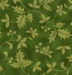 HOFFMAN - Poised Poinsettia - Hunter - Gold