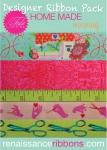 Tula Pink HomeMade Morning Designer Ribbon Pack by Renaissance Ribbons