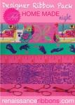Tula Pink HomeMade Night-Designer Ribbon Pack by Renaissance Ribbons