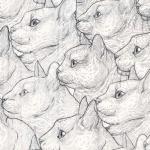 TIMELESS TREASURES - Rachel Hauer - Side Profiles - White