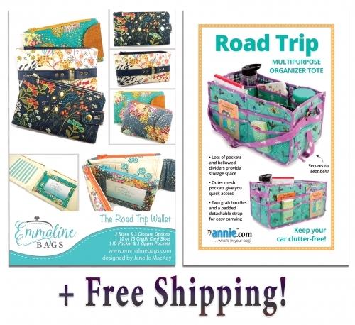Road Trip & The Road Trip Wallet Pattern Combo