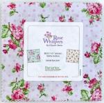 Benartex - Rose Whispers 5x5 pack by Eleanor Burns