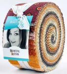 Riley Blake - Bountiful Autumn 2.5 inch Rolie Polie by Stacy West 40 pcs