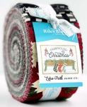 Riley Blake - Farmhouse Christmas 2.5 Inch Rolie Polie 40 pcs