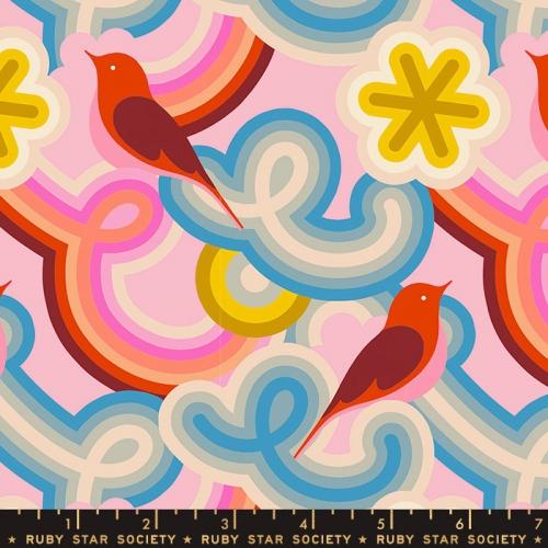 MODA FABRICS - Ruby Star Society - Social - Peony - Rainbows