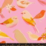 MODA FABRICS - Ruby Star Society - Social - Peony - Birds