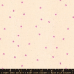 MODA FABRICS - Ruby Star Society - Spark - Neon Pink Stars