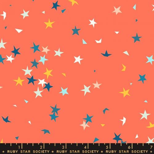 MODA FABRICS - Ruby Star Society - Pop - Tangerine Dream - Stars