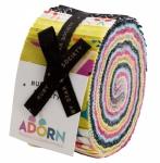 Adorn Jelly Roll by Rashida Coleman Hale Ruby Star / Moda Precuts