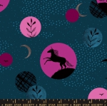MODA FABRICS - Ruby Star Society - Crescent - Sarah Watts - Dark Teal