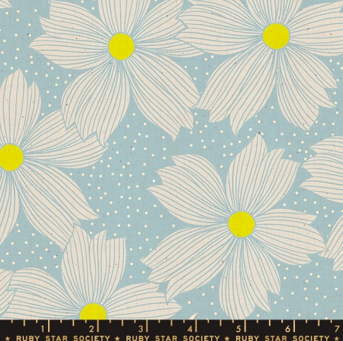 MODA FABRICS - Ruby Star Society - Crescent - Sarah Watts - Soft Blue