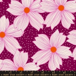 MODA FABRICS - Ruby Star Society - Crescent - Sarah Watts - Purple Velvet
