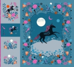 Clearance - Magic Unicorn Digital Panel by Sarah Watts Ruby Star Society Moda Precuts