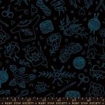 MODA FABRICS - Ruby Star - Purl Yarn Flash - Black