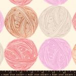 MODA FABRICS - Ruby Star - Purl Linen - Natural - Linen - Metallic