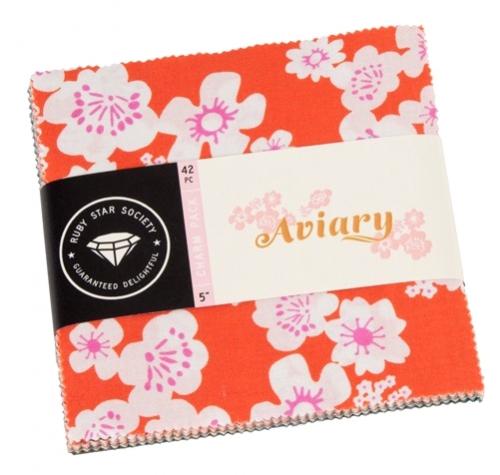 Aviary Charm Pack by Ruby Star Society Moda Precuts