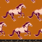 MODA FABRICS - Ruby Star - Darlings - Saddle