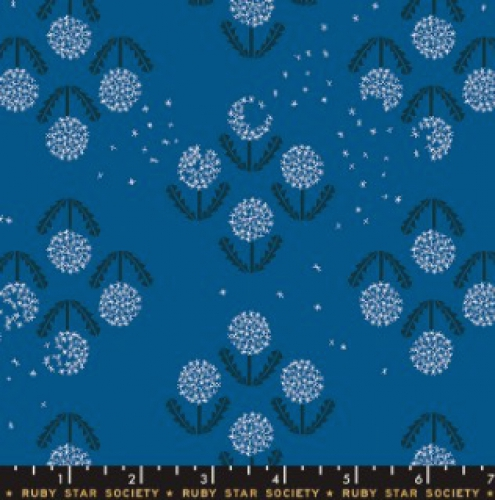 MODA FABRICS - Ruby Star - Darlings - Blue Raspberry