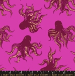 MODA FABRICS - Ruby Star - Darlings - Metallic - Berry