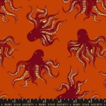 MODA FABRICS - Ruby Star - Darlings - Metallic - Cayenne