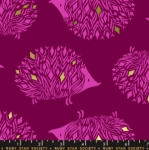 MODA FABRICS - Ruby Star - Darlings - Metallic - Purple Velvet