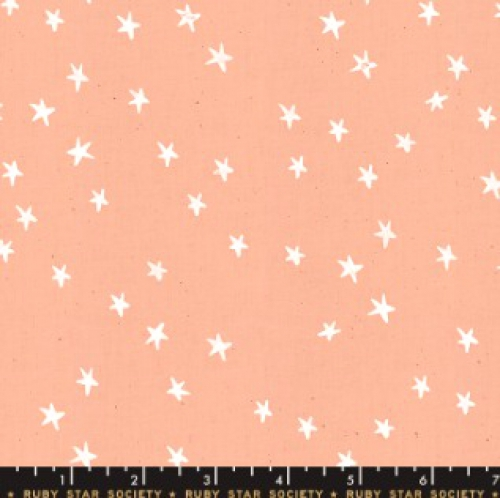 MODA FABRICS - Ruby Star - Darlings - Peach