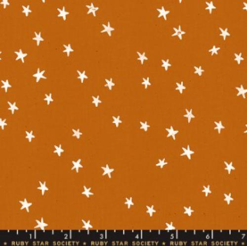 MODA FABRICS - Ruby Star - Darlings - Saddle