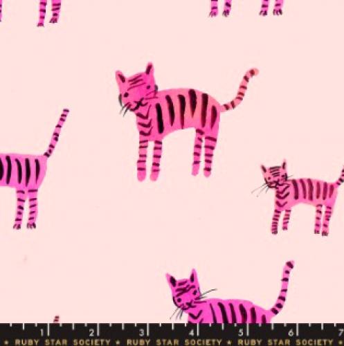 MODA FABRICS - Ruby Star - Darlings - Hot Pink