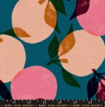 MODA FABRICS - Ruby Star - Cotton Linen Canvas 2019 Teal