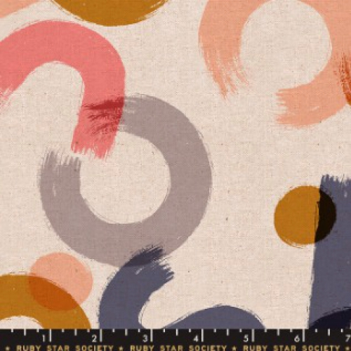 MODA FABRICS - Ruby Star - Cotton Linen Canvas 2019 Blush