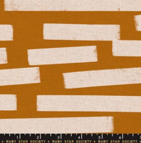 MODA FABRICS - Ruby Star - Cotton Linen Canvas 2019 Sand