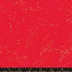 MODA FABRICS - Ruby Star - Speckled New - Metallic - Scarlet