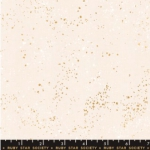 MODA FABRICS - Ruby Star - Speckled - Metallic - White Gold