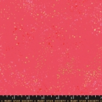 MODA FABRICS - Ruby Star - Speckled - Metallic - Strawberry
