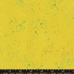 MODA FABRICS - Ruby Star - Speckled - Metallic - Citron
