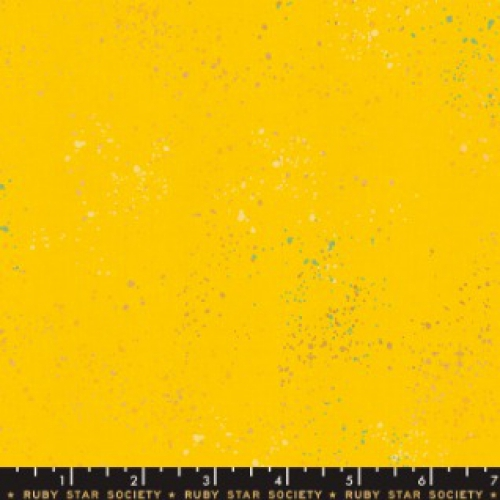 MODA FABRICS - Ruby Star - Speckled - Metallic - Sunshine