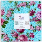 Benartex - Rose Whispers 10x10 pack by Eleanor Burns