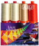 Aurifil - Ricky Tims Lizzy Albright Thread Collection 4 Large Spools