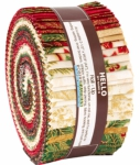 Kaufman - Holiday Flourish - Holiday 2.5 Inch Roll Up