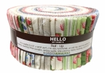 Kaufman - Farmhouse Rose 2.5 inch Roll Up by Lynnea Washburn