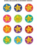 Sew Sassy Buttons - Sewing and Quilting Achievement Awards Set