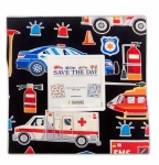 Benartex - Save the Day 10x10 Pack 42 pcs