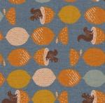 KAUFMAN - Cotton Flax Prints - Slate