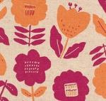 KAUFMAN - Cotton Flax Prints - Summer - Natural