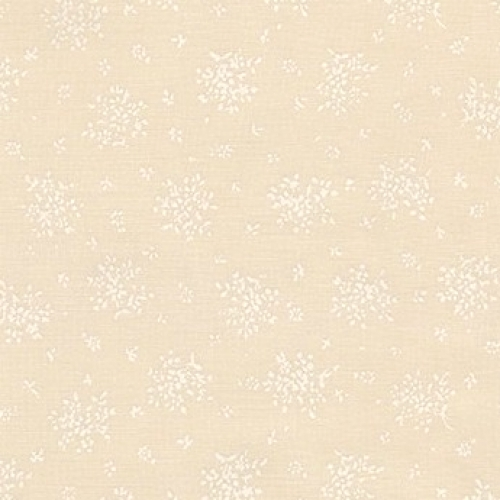 KAUFMAN - Sevenberry Pale Prints - Ivory Floral Bouquet - C68-