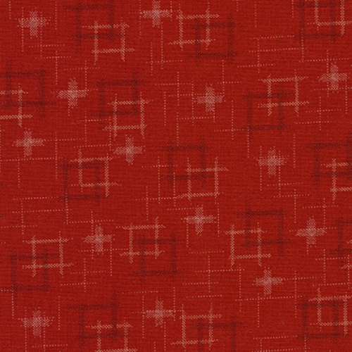 KAUFMAN - Sevenberry - Kasuri - Red