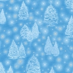 KAUFMAN - Winter's Grandeur - Frost - SRKM-16581-254