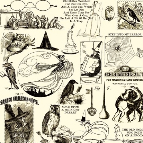 QUILTING TREASURES - Sew Scary - 1649-23861